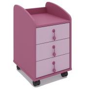 Šuflíkový mobilný kontajner Aurora-výber odtieňov