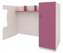 Zostava pre poschodovú posteľ Aurora II, pravá - výber odtieňov