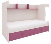 Zostava pre poschodovú posteľ Aurora IV - výber odtieňov