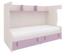 Zostava pre poschodovú posteľ Aurora III - výber odtieňov