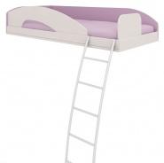 Horná posteľ s rebríkom Aurora,pravá-výber odtieňov