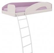 Horná posteľ s rebríkom Aurora,ľavá-výber odtieňov