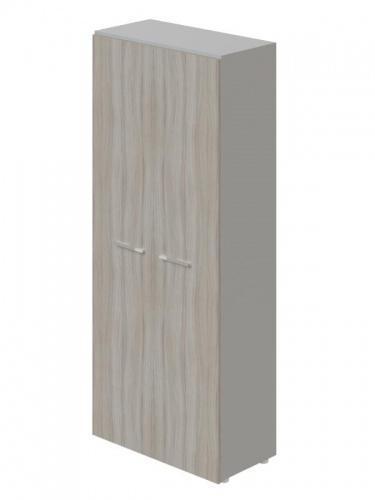 Šatník dvojdverová Lorenc I - sivá /driftwood