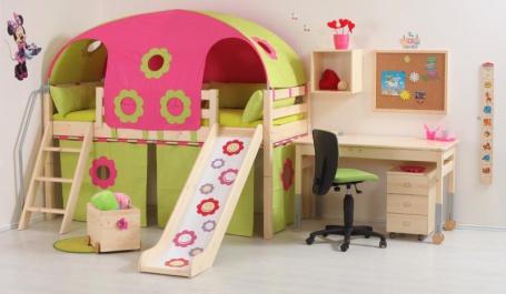 Detský domček pod vyvýšenú posteľ Domino (4 ks)