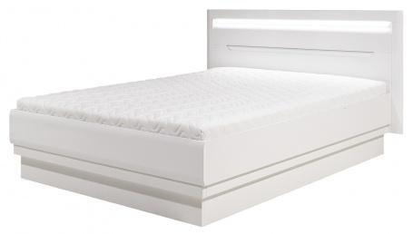 Manželská posteľ Irma 180x200cm - biela