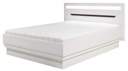 Manželská posteľ Irma 180x200cm - biela / wenge