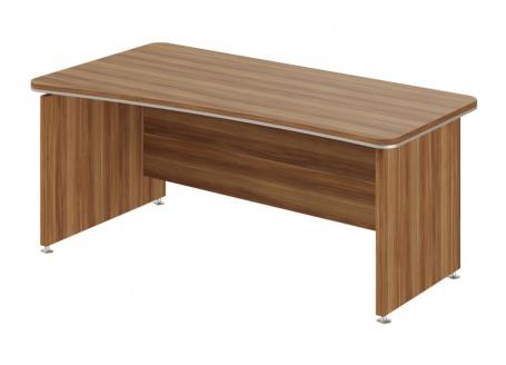 Písací stôl Lorenc 180x95cm ľavý - orech
