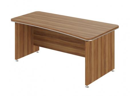 Písací stôl Lorenc 180x95cm pravý - orech