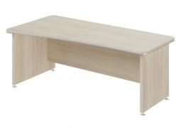 Písací stôl Lorenc 200x100cm ľavý - agát svetlý