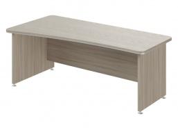Písací stôl Lorenc 200x100cm ľavý - driftwood