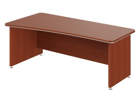 Písací stôl Lorenc 200x100cm ľavý - višňa