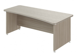 Písací stôl Lorenc 200x100cm pravý - driftwood