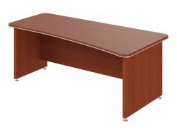 Písací stôl Lorenc 200x100cm pravý - višňa