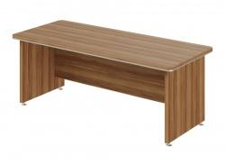 Písací stôl rovný Lorenc - orech