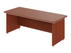 Písací stôl rovný Lorenc 200 - višňa