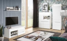 Obývacia izba Irma II - biela