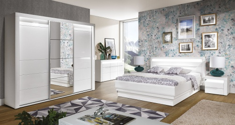 Spálňa Irma II - výber rozmeru postele