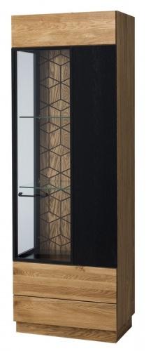 Vitrína 1-dverová pravá MOSAIC 11