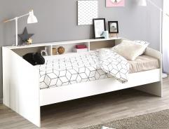 Detská posteľ Billie 90x200cm - biela