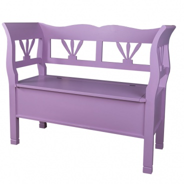 Drevená lavica s úložným priestorom HONEY - výber farby