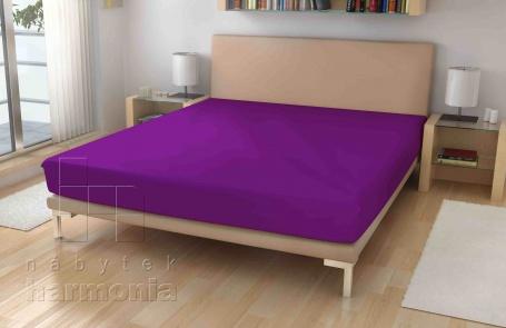 Jersey plachta - fialové