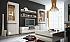 Lesklé obývacie steny