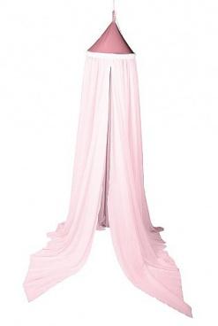 Nebesia nad posteľ - pastelovo ružová (D237/PR)